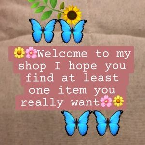 Welcome! Please take a look around my shop